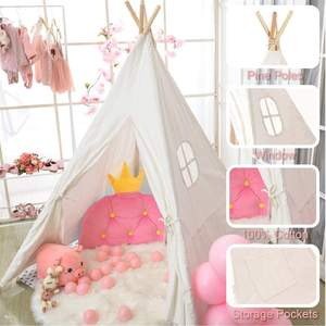 kids Baby Indoor Dollhouse toy tents outdoor play Indian tepee Tents Children high indian Teepee Tent