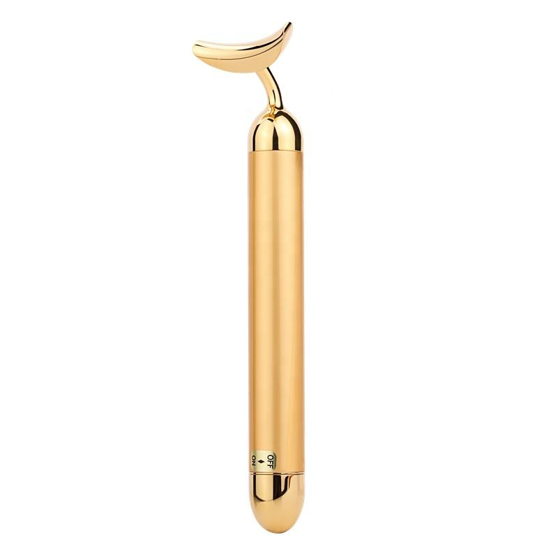Multi-Functional Beauty product face massager 24k gold beauty bar for slimming