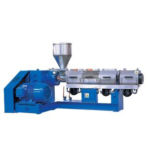 Single screw plastic extruder machine