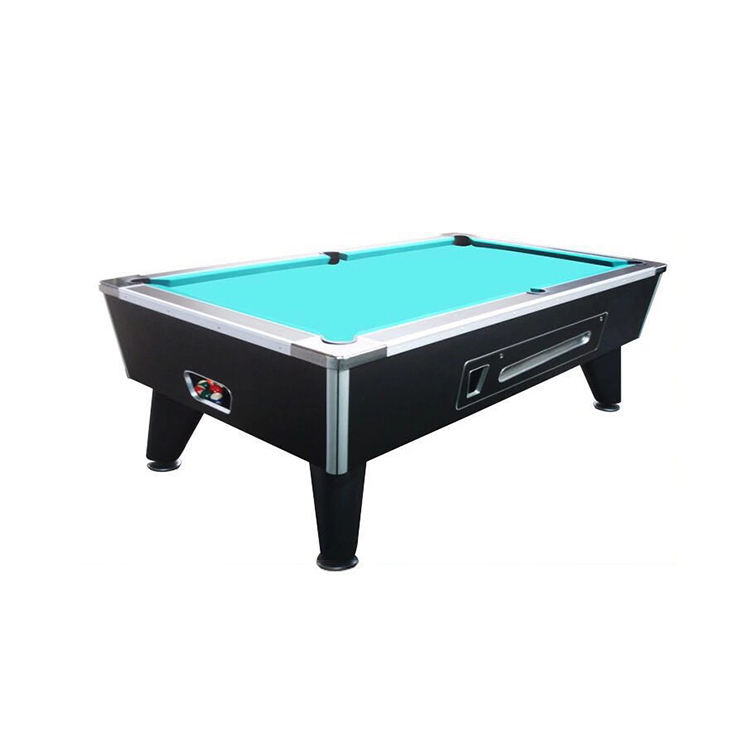 Cheap Price Solid Wood Billiard Coin Operated Snooker Pool Table