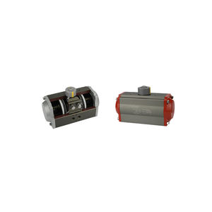 Return Double Acting Air Torque Rack Aluminum Alloy Pneumatic Actuator Valve