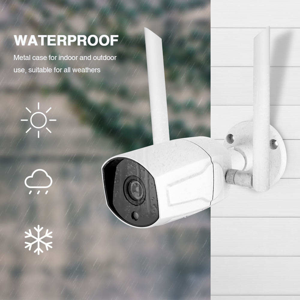 Loosafe Yoosee 2.0mp Antenne Waterdichte Ip68 Outdoor Wifi Bullet Camara Ip Draadloze 1080p Cctv Camera Met Sim-kaart