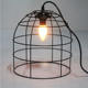 retro bird cage indoor home decor ceiling wrought iron hanging light fixtures