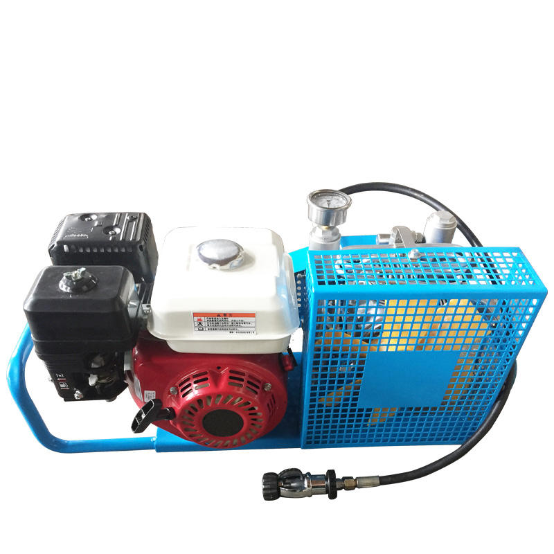 TUXING 3.5cfm 300bar High Pressure Scuba Diving Breathing Air Compressor Gasoline Power Filling Station