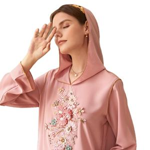 2020 latest designs stitching fashion loose new model islamic clothing kimono dubai abaya muslim abaya