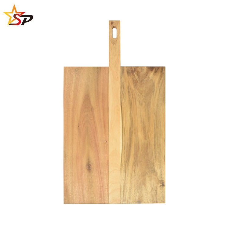 Wooden Chopping Board Large for Kitchen 50.9 x 28.1 x 2 cm Professional Grade for Strength and Durability