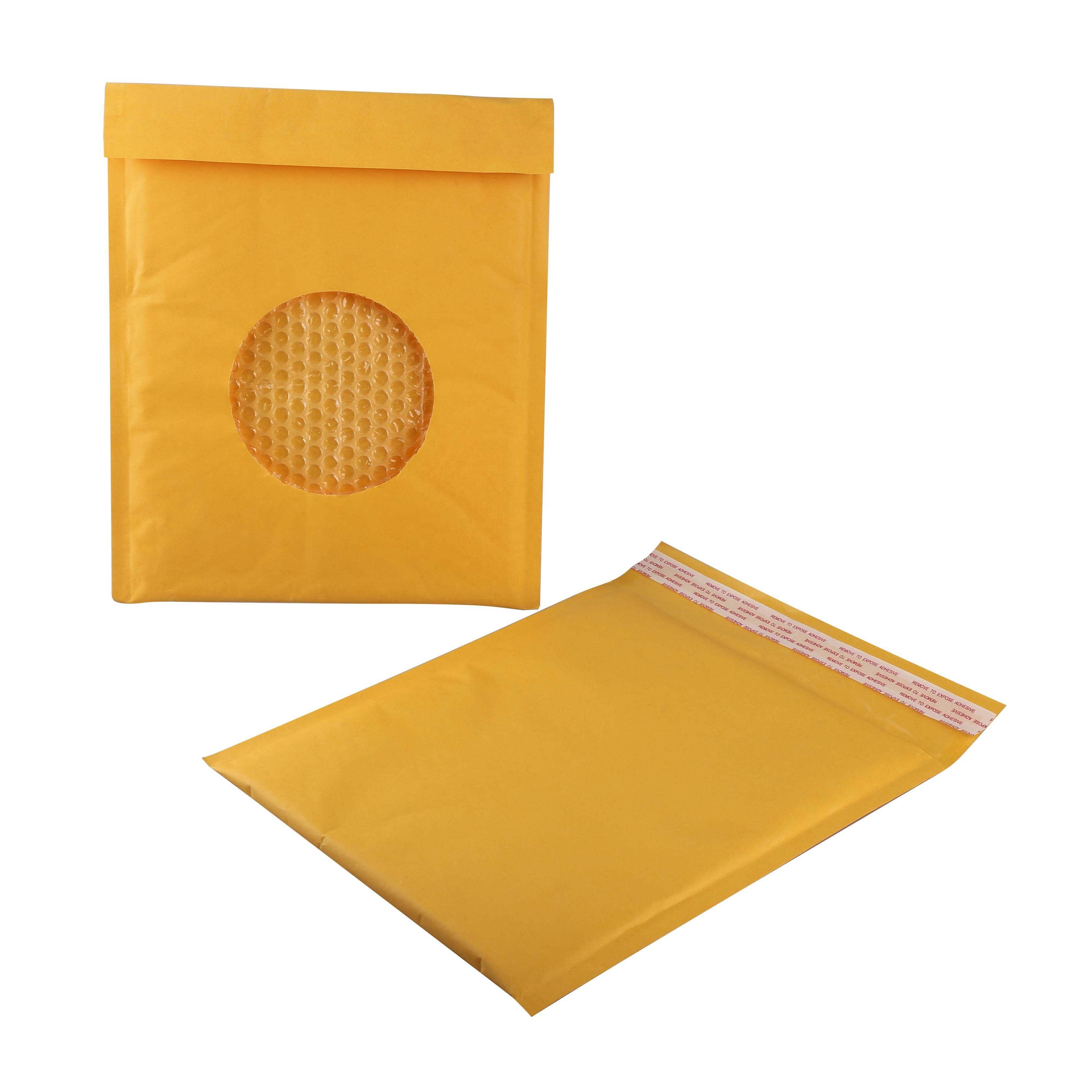Padded Mail Bags High Quality Recycled Waterproof Brown Custom Kraft Envelope Air Bubble Wrap Padded Shipping Packing Mailer Delivery Mailing Bag
