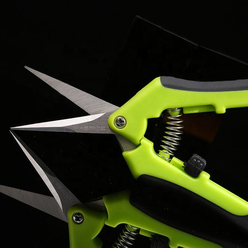 Hydroponic blade cutter stainless steel small trimming pruning shears