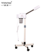 Todom ozone beauty spa standing professional hot sauna vaporizador steam machine face steamer facial steamer