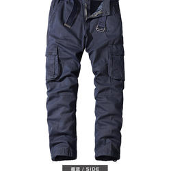 New design men cargo pants casual outdoor wear  straight leg