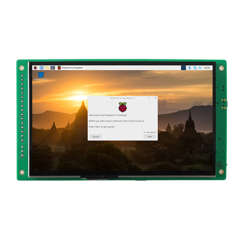 5-Punts Capacitieve Robuuste Touch Screen Monitor Lcd Display Raspberry Pi 4 Met Lcd