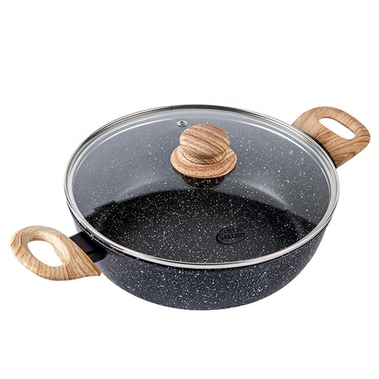 New products ceramic non stick frying pan cookware sets non stick fry pan