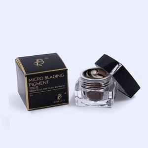 Professional High Quality Skin Safe Biomaser Microblading Pigment 5ml/pc Private Package Pigment Paste
