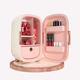 New 12L Custom portable cosmetics fridge pink small refrigerator for Beauty mini skincare fridge Cosmetic