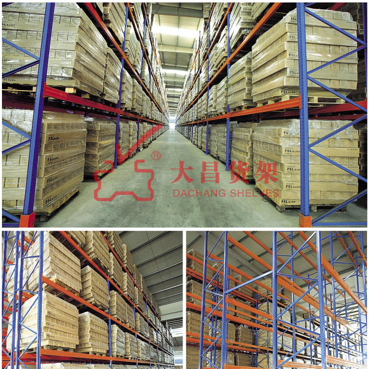 Heavy Duty Long Span Warehouse Rack TUV certificate approved heavy duty shelving/storage pallet rack /selective racking system