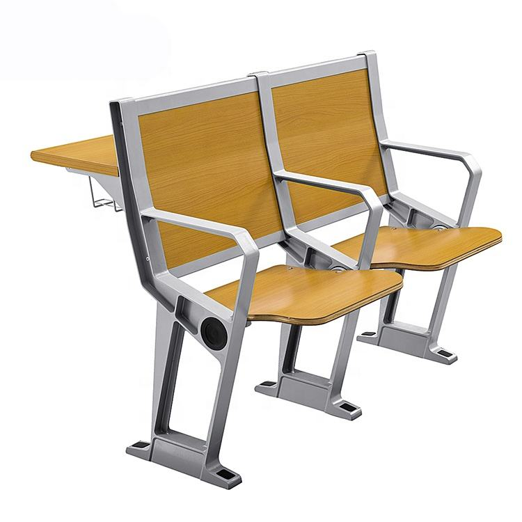 School University College Lecture Room Hall Furniture, Lecture Chair With Table, Lecture Hall Chair Desk