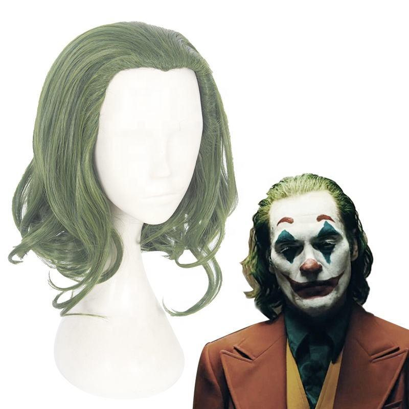 Short Green Joker Suicide Squad The Dark Knight Batman Synthetic Cosplay Wig
