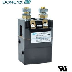 Albright Type SW60 Magnetic Latching DC Contactor 80A