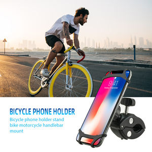 Taiworld Free Sample Anti-Slip Bike Phone Holder Silicone Bicycle Phone Mount Cell Phone Bikes Mount