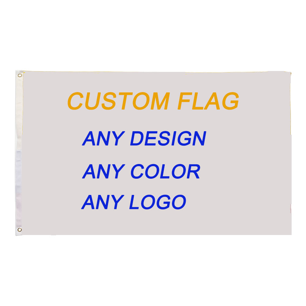 Flag Manufacturer Fast Delivery 100%Polyester CMYK Sublimation Printing Large 3x5FT Custom Flags
