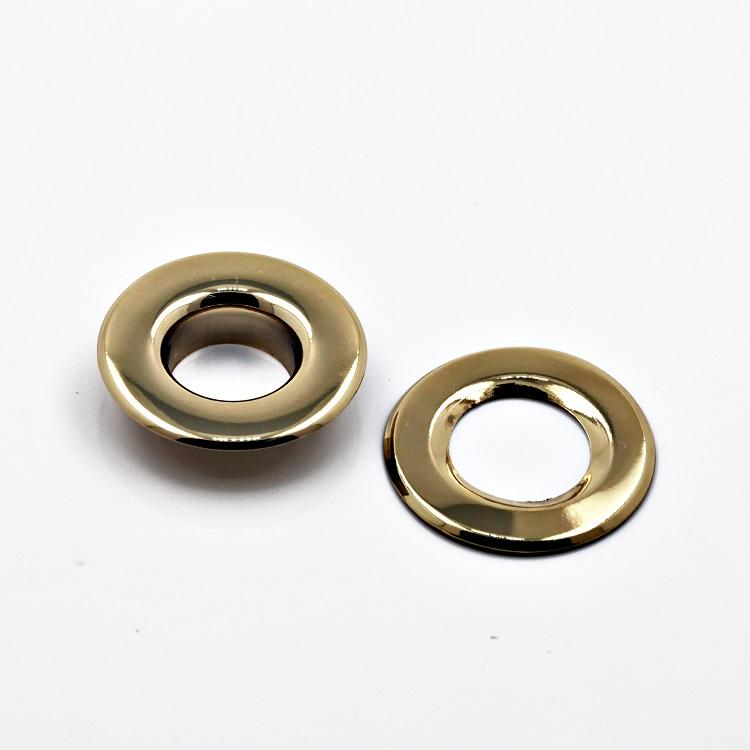 Nice Plating 20mm Metal Eyelets with Grommets for Fabrics Curtains Garments
