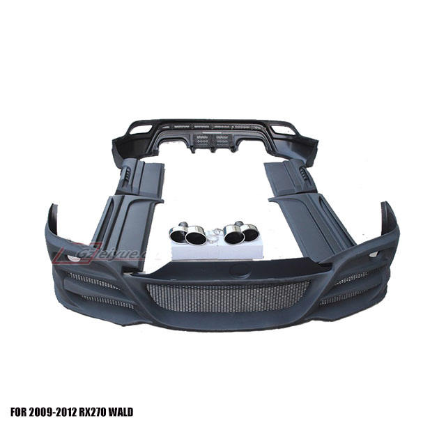 Auto Parts Front & Rear BumperS für 2009-2012 RX <span class=keywords><strong>WD</strong></span> Style Body Kits Facelift Conversion