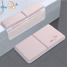 Baby Bath Cushion Accessories Bath Kneeler and Elbow Rest Pad Set Padded Knee Mat for Bathtub