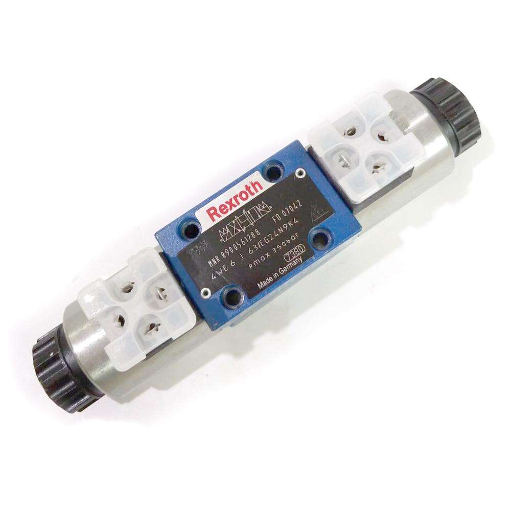 Rexroth 4WE6 4WE6J63/eg24n9k4 Compacting Press hydraulic solenoid valve 12VDC 24VDC 110VAC 220VAC