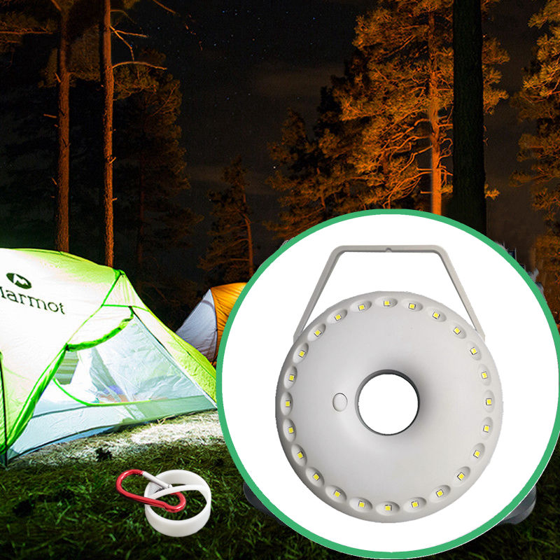 2020 New arrival high quality 24 LED camping lantern in stock ready to ship fast shipping amazon hot sale ultra bright