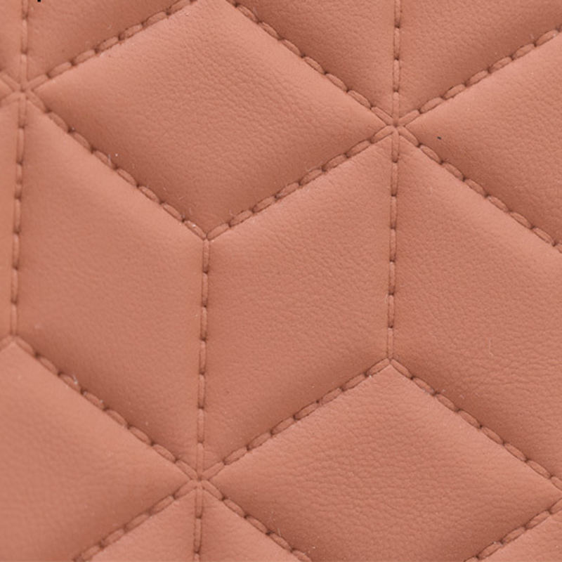 Embossed sewing PVC leather high quality interior leather material for sofa /car upholstery embroider leather 5 mm foam