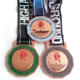 Us Miraculous Medal Holder Sports Karate / Soccer / Football / Marathon Medals With Lanyard