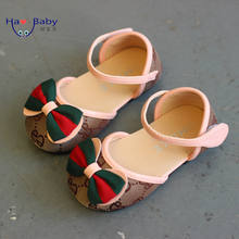 Hao Baby New Canvas Children Sandal Spring And Autumn Girls Princess Dressshoes Children Casual Shoes