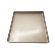 Manufacturer production rose golden cookie sheet colorful square cake pan grill pan