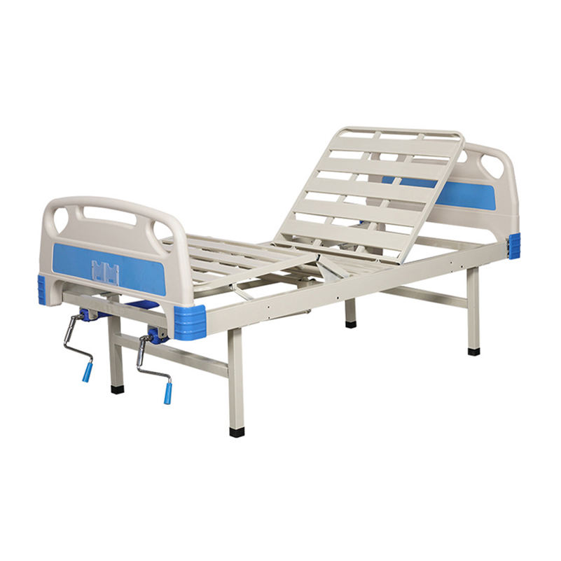Portable Durable Lightweight Folding Flat Field Manual Hospital Bed