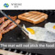 Ptfe Mat Cooking Ptfe Customized Fireproof Charcoal PTFE Non-stick Bbq Grill Mat Cooking Sheet Oven Liner