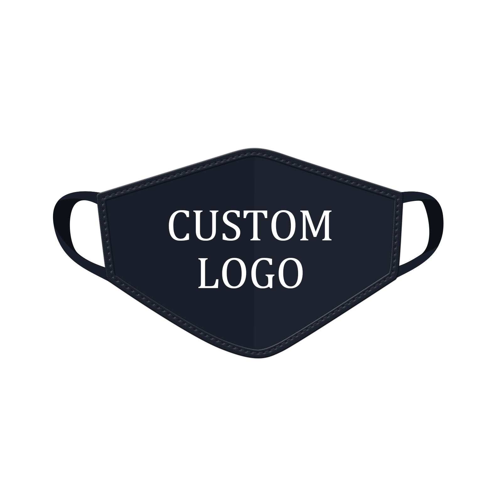 Fast delivery free sample custom logo brand mix color men women adult and kids size polyester cotton face maskes