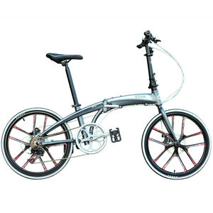 XTOS German-designed Shimano 20-inch 22-inch aluminum alloy spoke wheel one-wheel folding bicycle