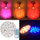 Wedding Centerpiece Multicolor Led Under Table Vase Wedding Decoration Centerpiece Light Base