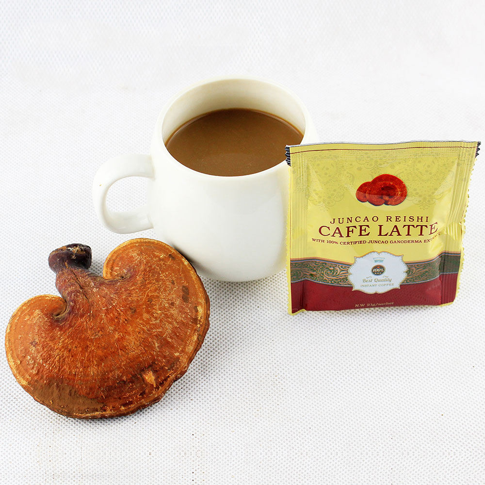ganoderma/reishi/lingzhi latte cafe/coffee