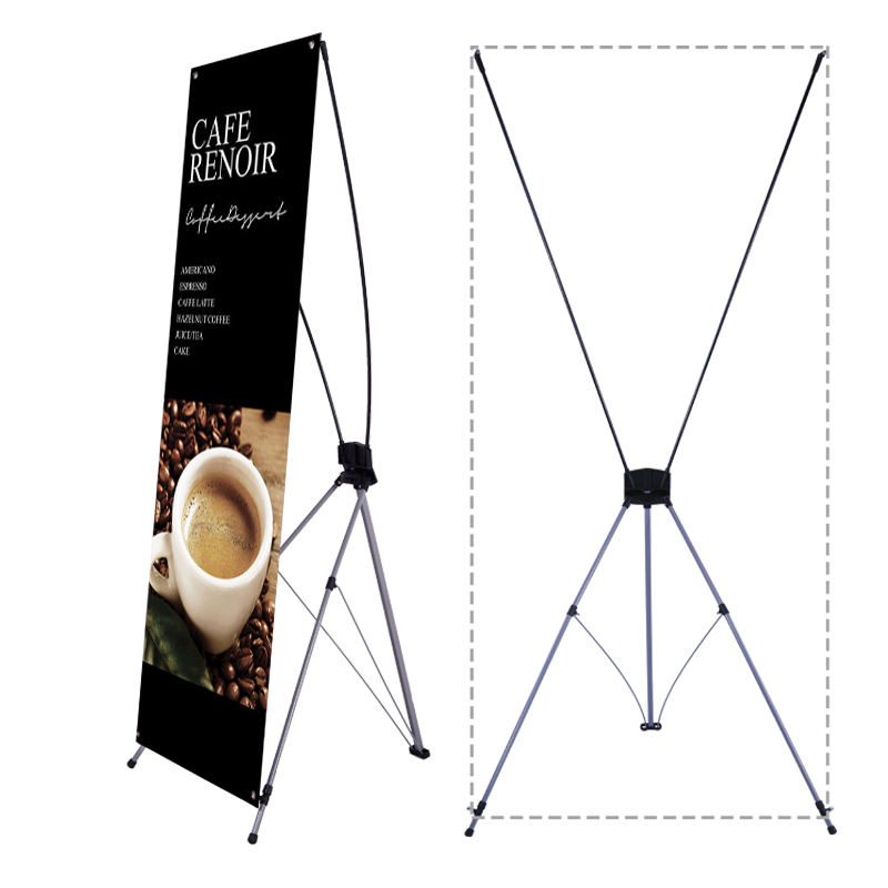 factory supplies High quality hot sell classical size 60 x 160 cm advertising x banner stand 80 x 180 cm