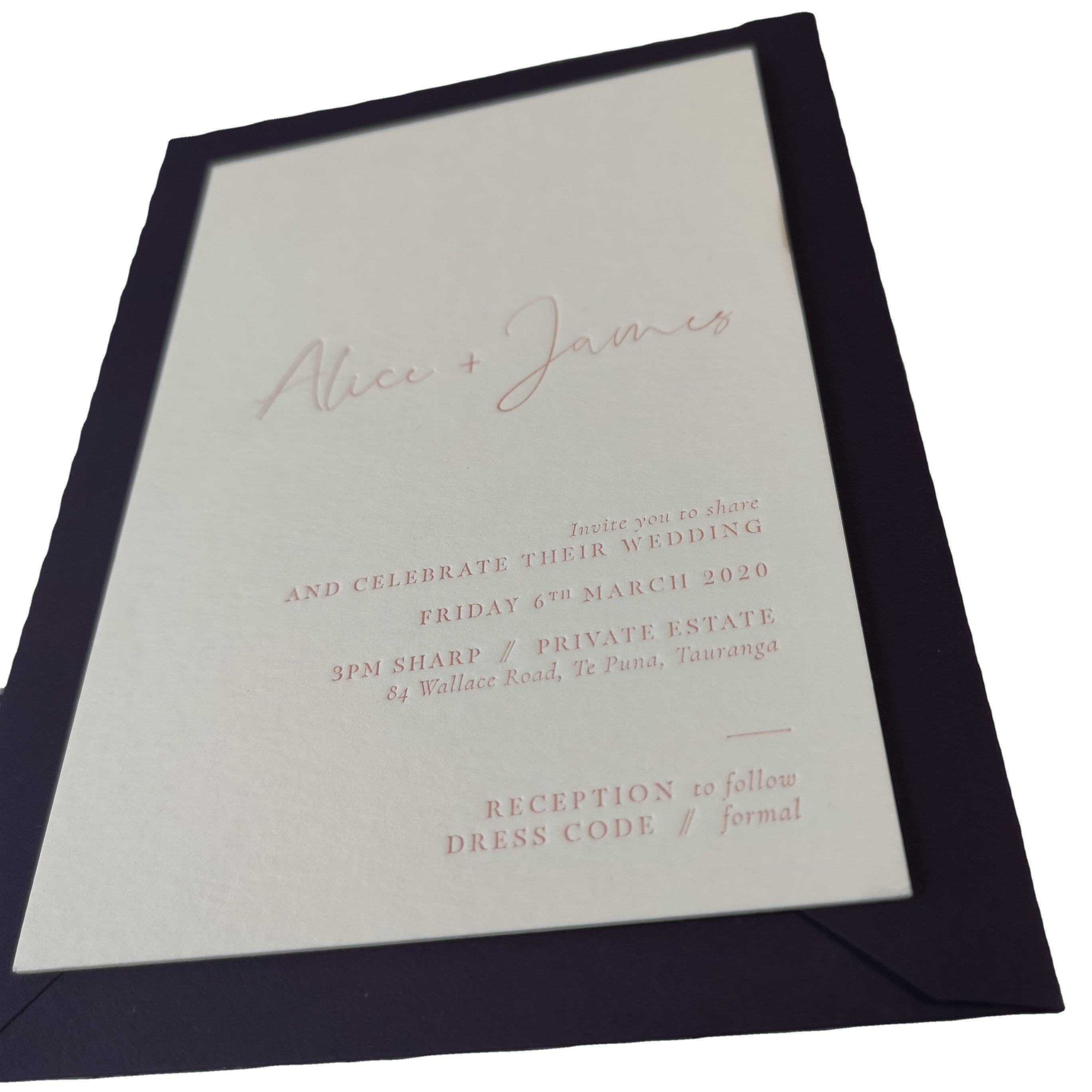 Letterpress Invitations ,WISHING WELL,RSVP,Contact card letterpress printing