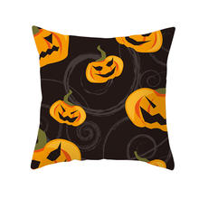 2019 High quality fashion Hallowmas printing luxury square sofa / car pillow case cushion cover