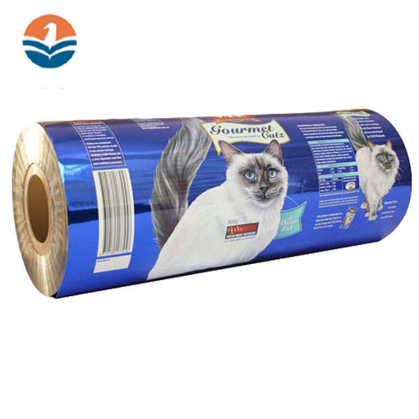 Food Grade Laminated Packaging Plastic Metalized Cpp/Opp/Pet Film Aluminium Foil Roll Factory Price