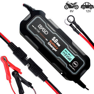 5A Battery Charger with LCD Display 6V/12V lead acid battery charger car battery charger