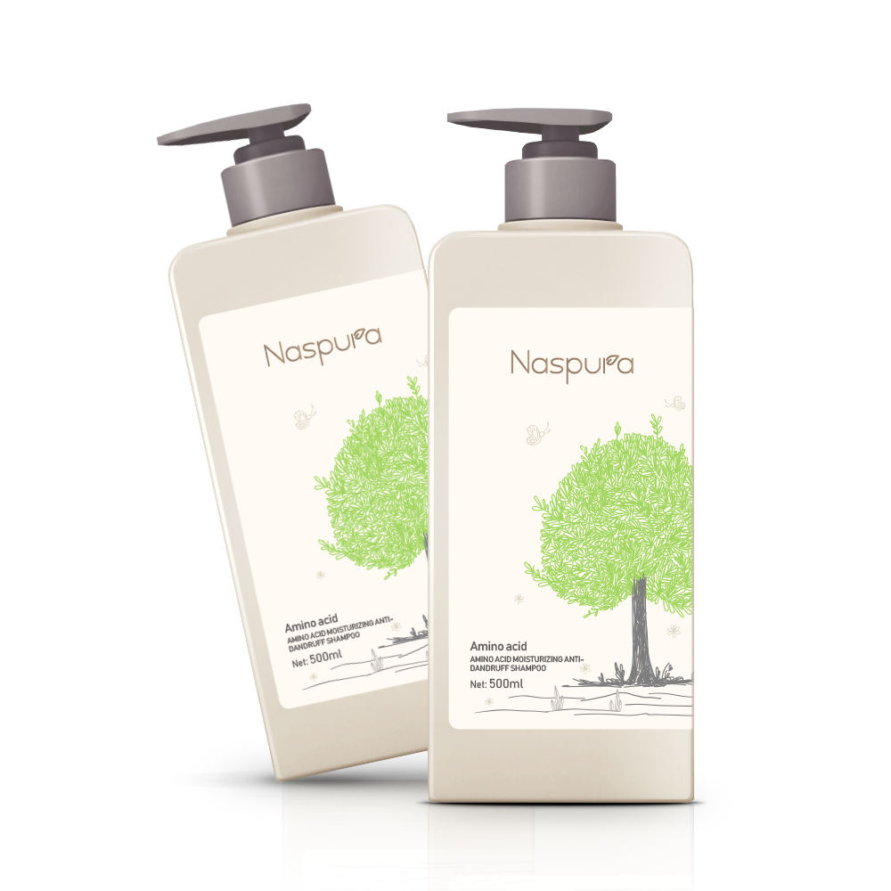 2021 Naspura natural ingredients with shiny and lustrous effect anti-dandruff/anti itching/ anti greasy shampoo for oily hair