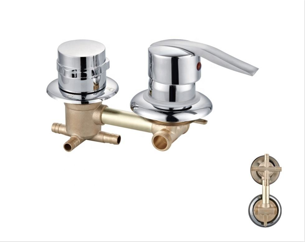 Hot selling 4 Ways,5 Ways bath brass faucet chrome plated shower faucets