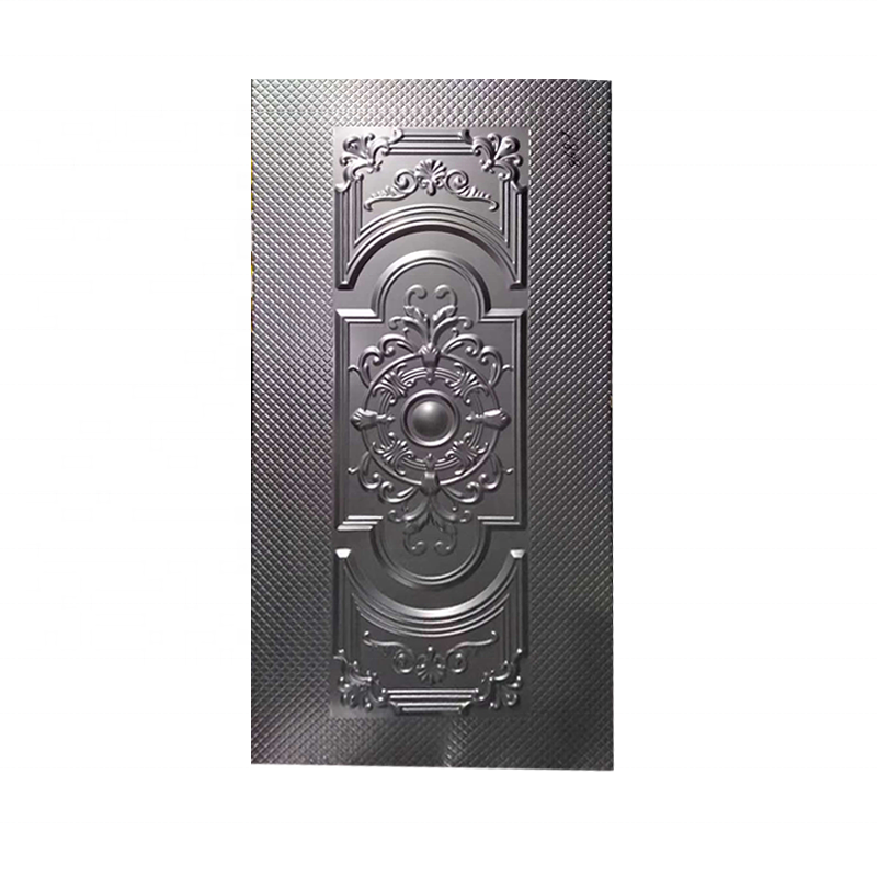 YX embossed steel metal door skin Cold Rolled Iron Sheet for security door 6 Panel exterior laminate Door Skins south africa