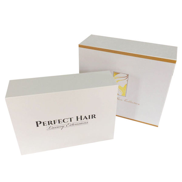 Customized Extra Large High-end Foldable Cardboard Packaging Box Wig Gift Packaging Box Magnetic