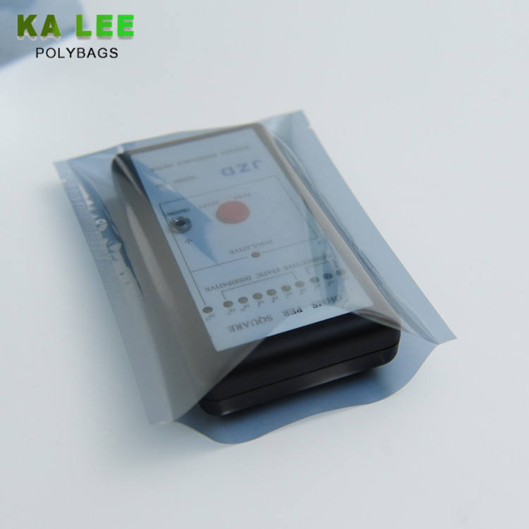 Custom anti static plastic bag antistatic led anti-static shielding