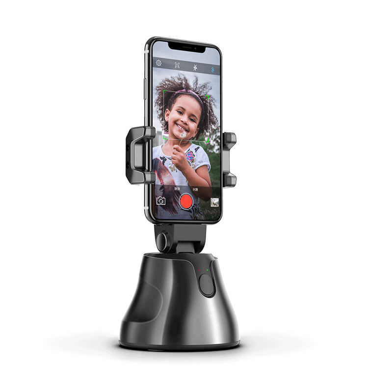 Wholesale Auto Rotation Phone Holder Automatic Robot Cameraman Selfie Phone Holders